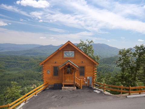 Top 10 romantic getaways in the u s whattobring for Rent cabin smoky mountains